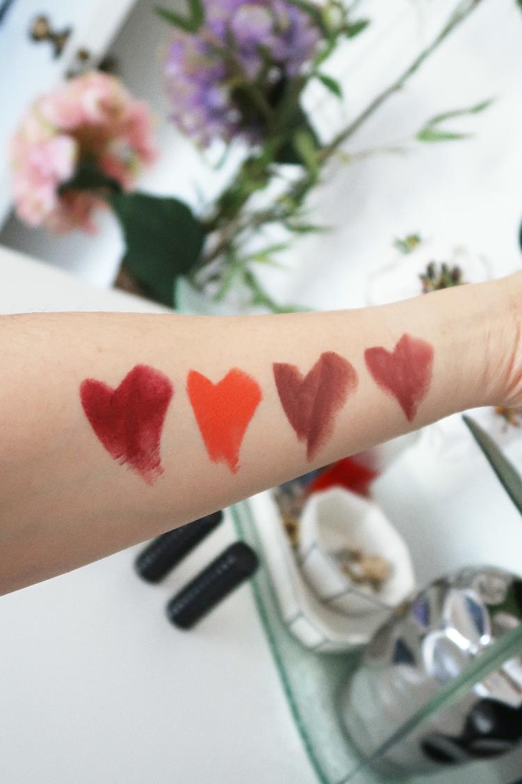 Kat Von D Studded Kiss Lipstick Swatches