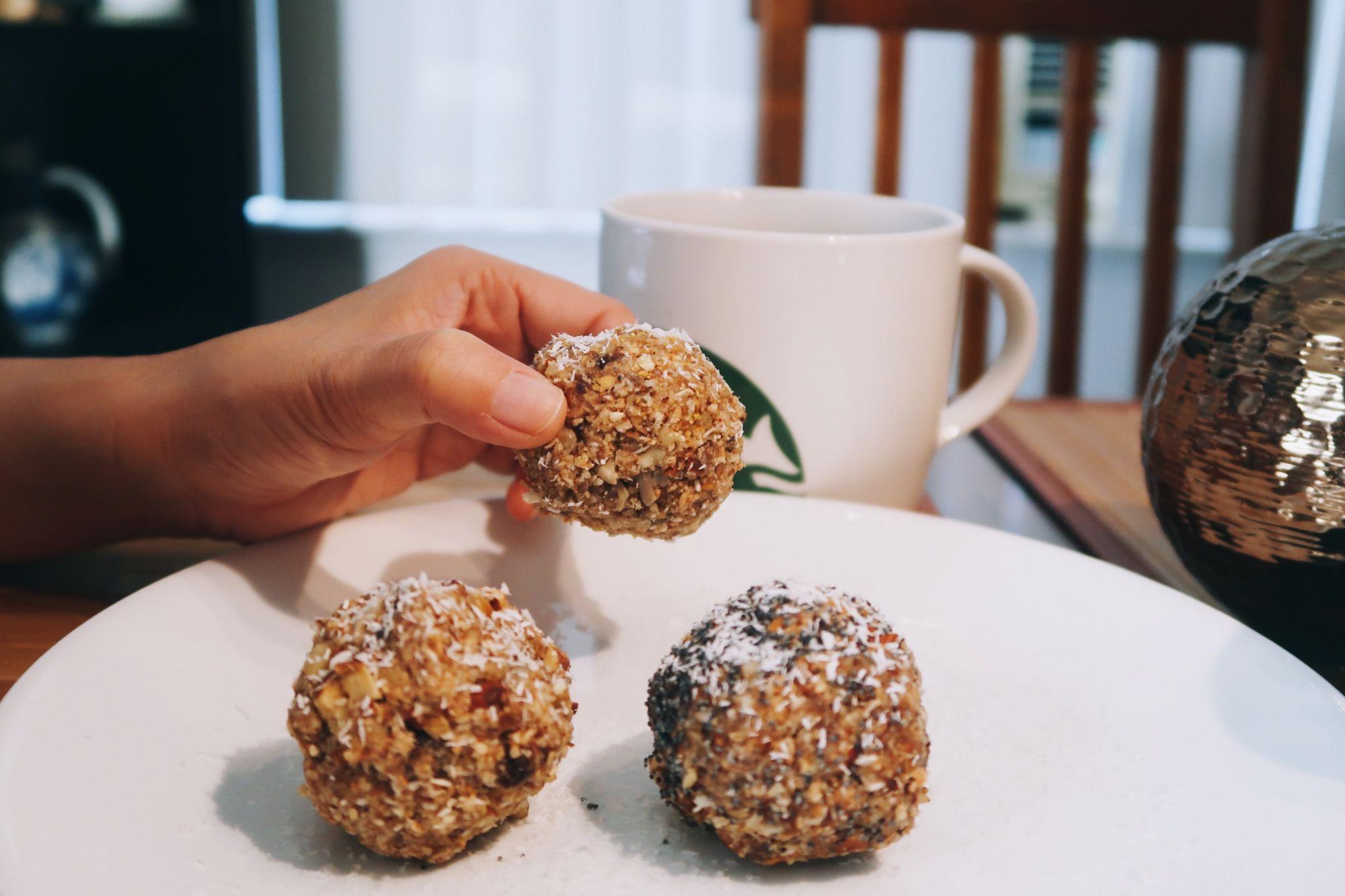 No Bake Naughty Nutty Balls Recipe