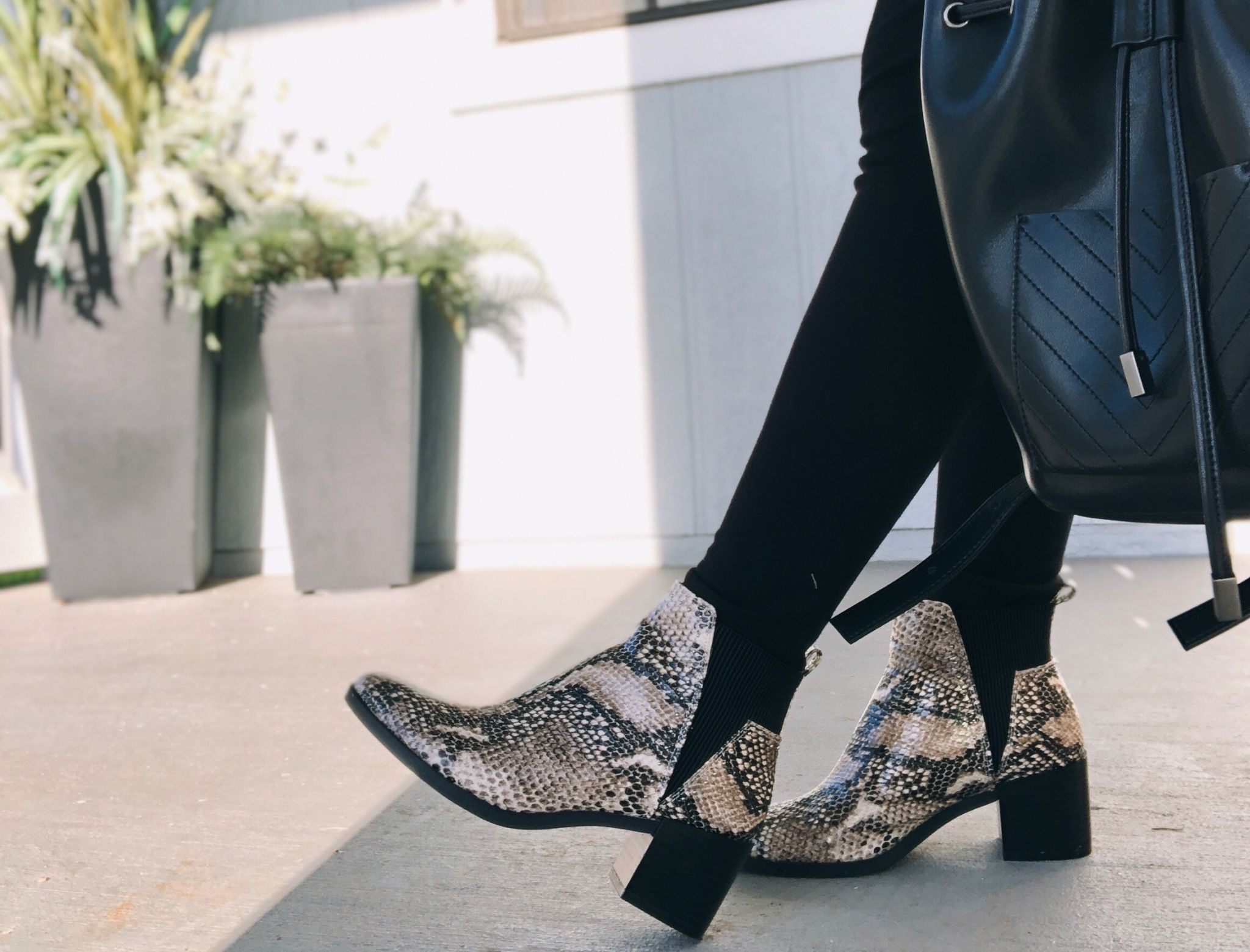 Vegan Snakeskin Fall Winter Shoes Trend
