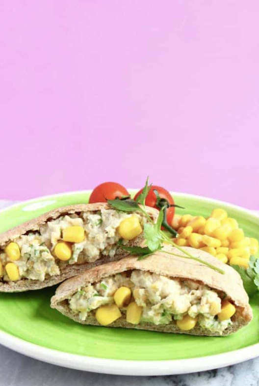 egan Chickpea Mayonnaise Salad