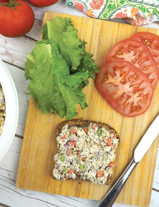 Vegan Tofu Tuna Salad Sandwich