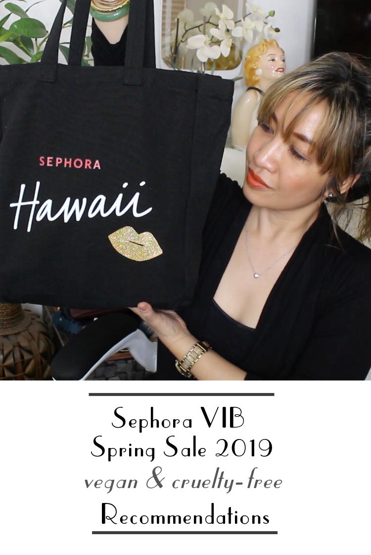 sephora vib sale 2019 vegan cruelty free recommendations