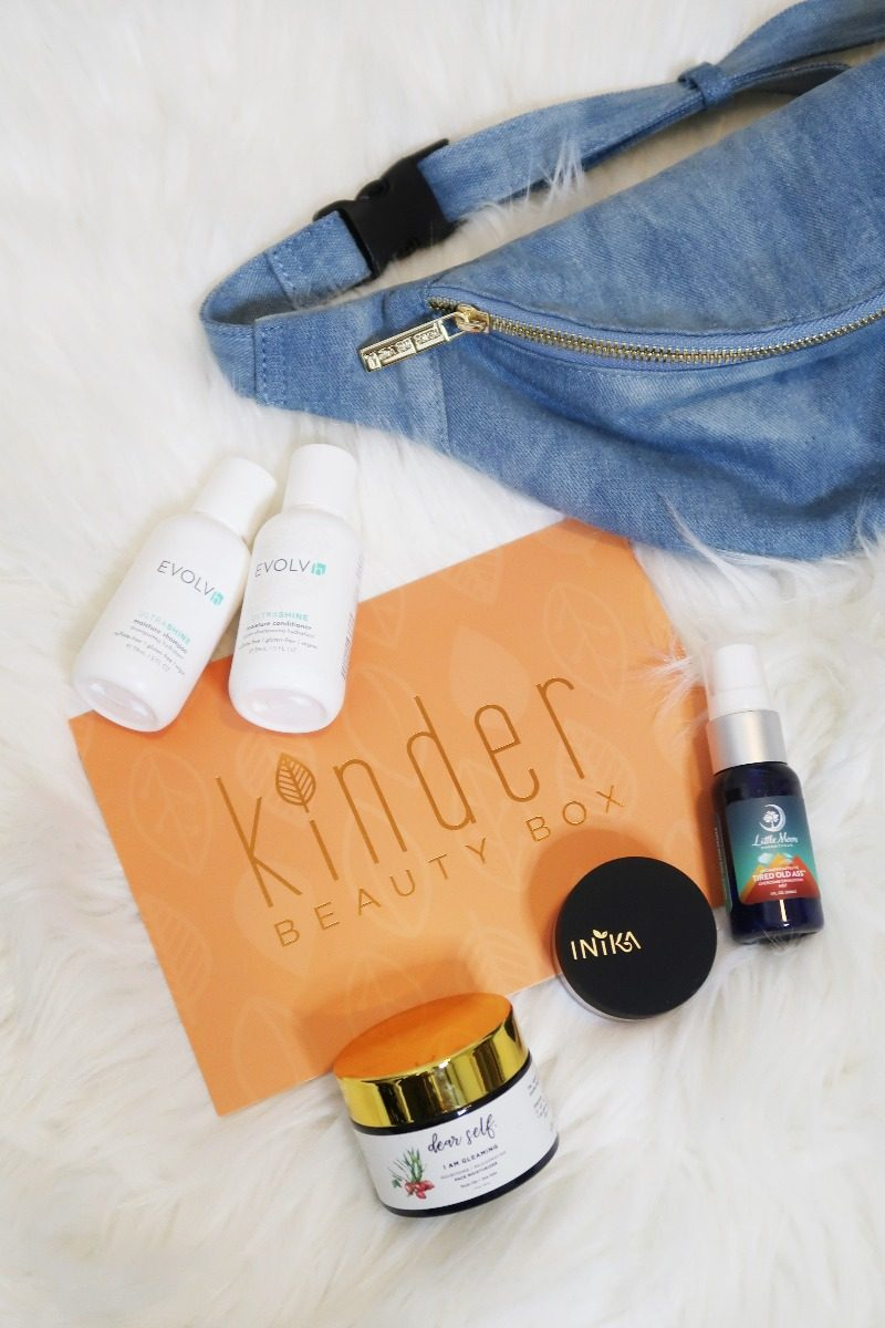 Hawaii Lifestyle Blogger Thefabzilla shares her thought on Kinder Beauty Box June subscription. Vegan and Cruelty-free