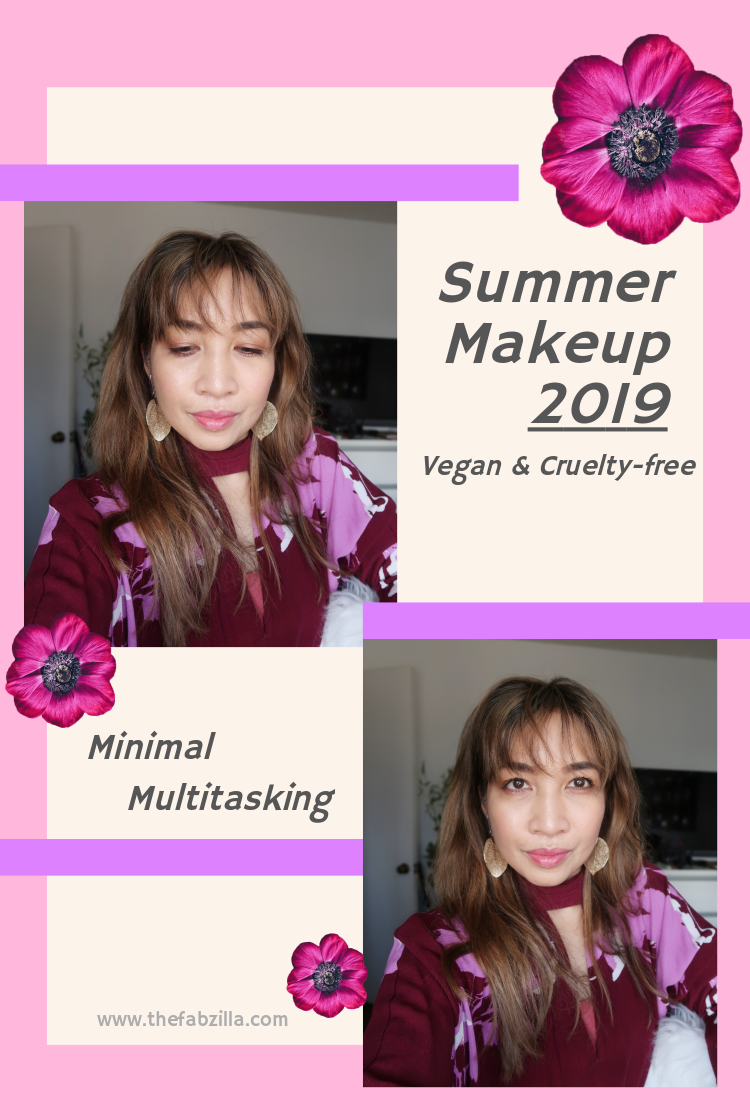 Hawaii Beauty Blogger Thefabzilla shares 3 multi-tasking makeups every woman needs for summer. Vegan and cruelty-free