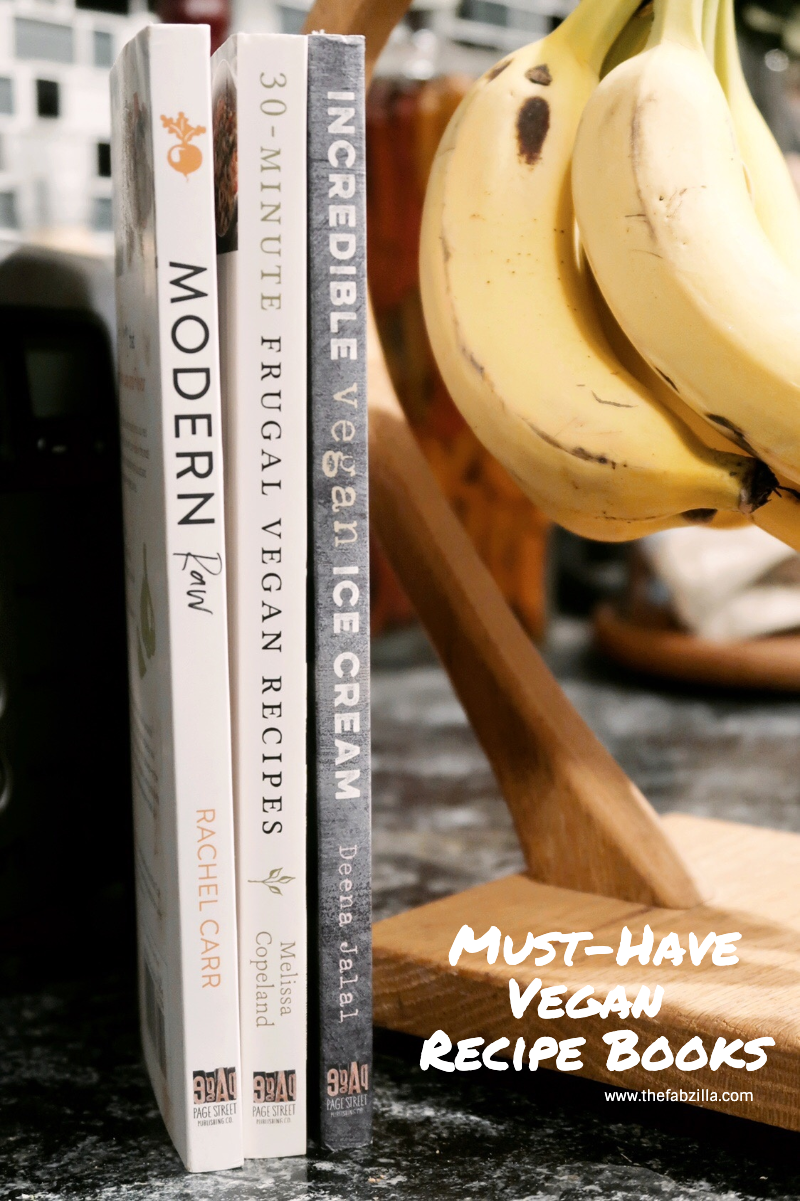 Hawaii Lifestyle Blogger Thefabzilla shares 3 vegan recipe books you need in your life right now.