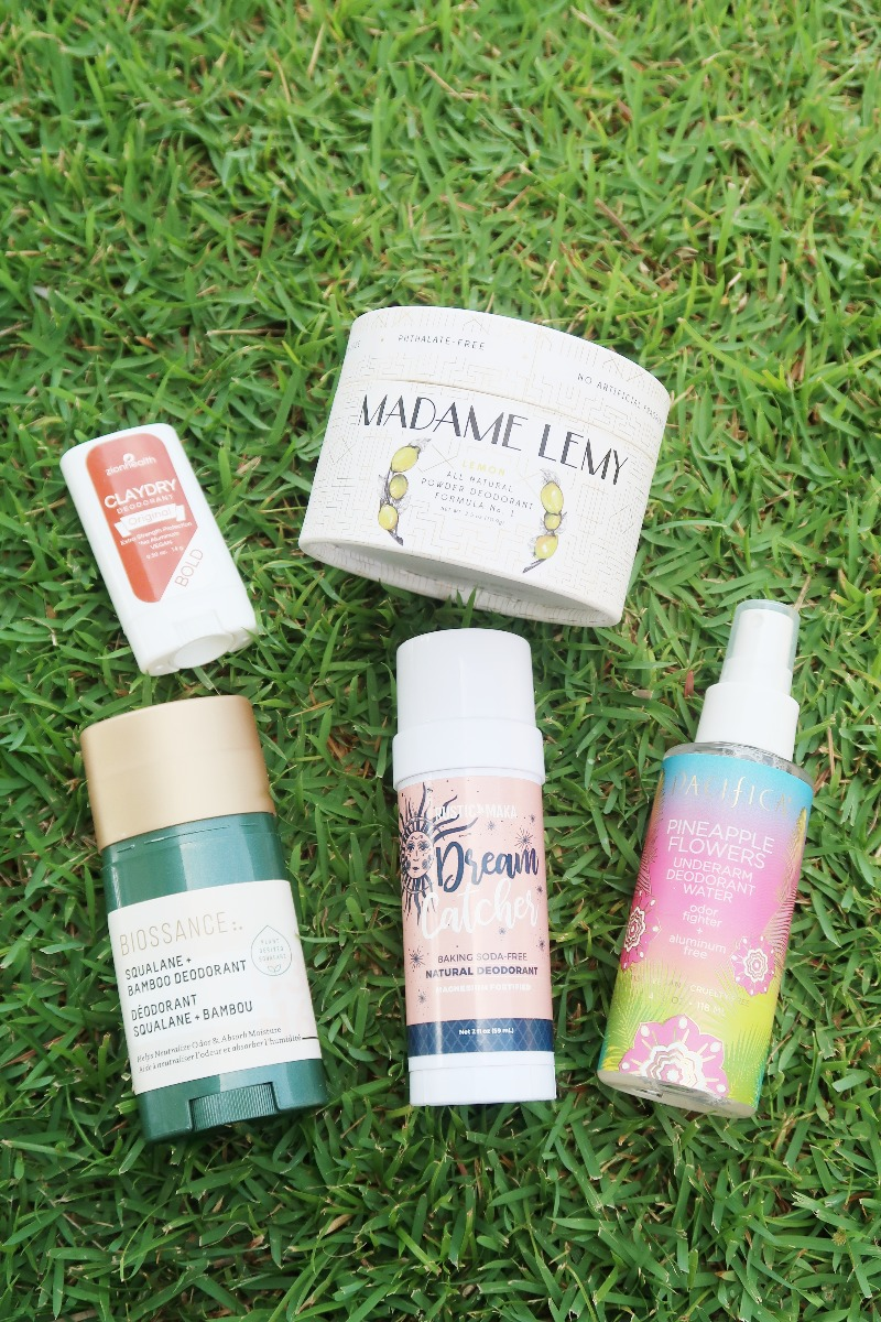 Hawaii Lifestyle Blogger Thefabzilla shares why you should use natural deodorant plus helpful solutions for underarm sweat