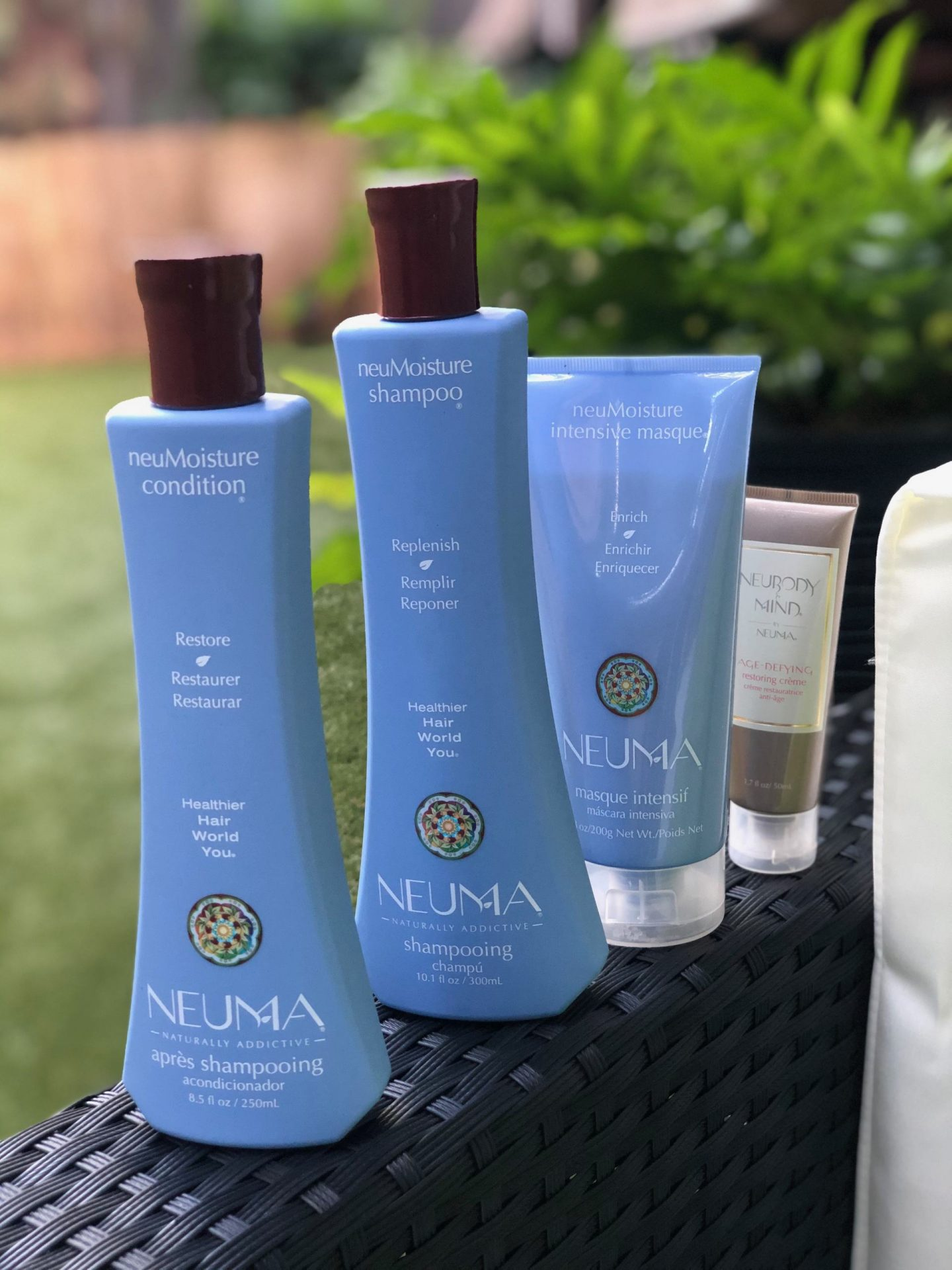 Neuma Beauty Vegan and Cruelty-free Haircare line